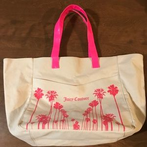 Juicy Couture canvas tote